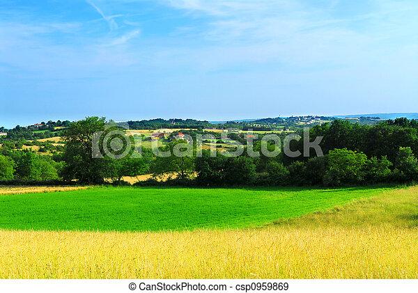 Rural landscape - csp0959869