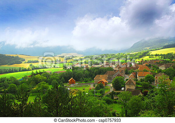 Rural landscape - csp0757933