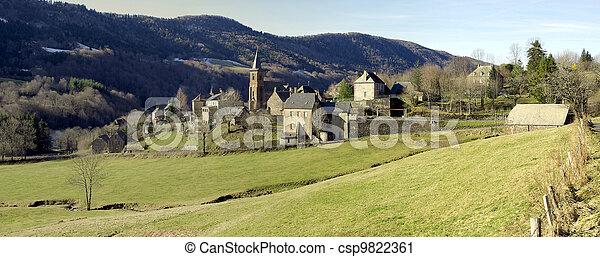 Rural panorama - csp9822361