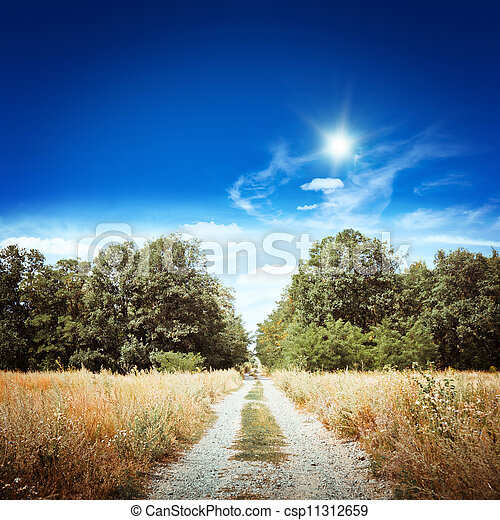 Rural road - csp11312659