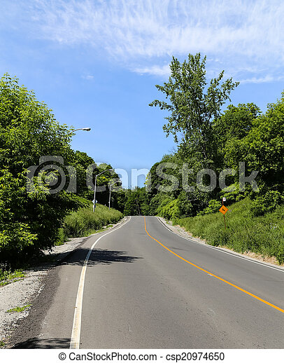 Rural Road - csp20974650