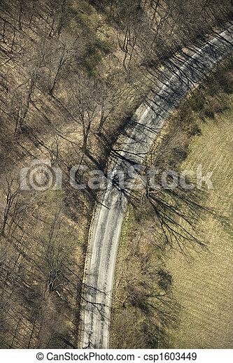 Rural road. - csp1603449