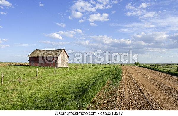 Rural scene - csp0313517
