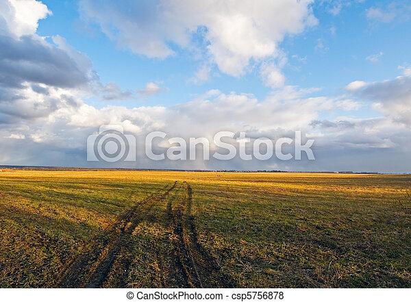rural scene - csp5756878