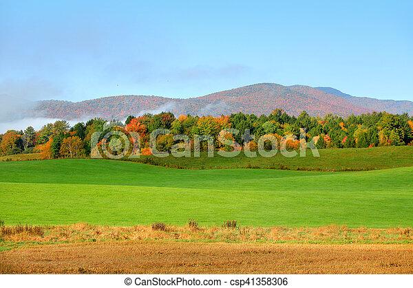 Rural Vermont - csp41358306