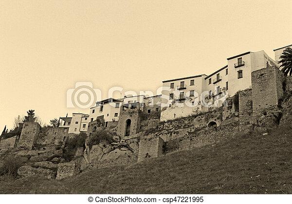 rural village detail - csp47221995