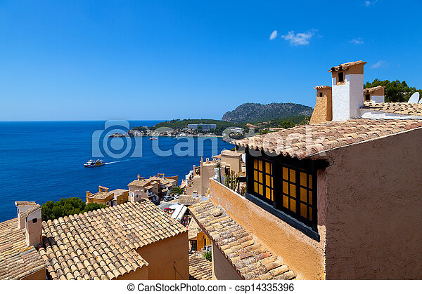 Rural Village in Paguera, Cala Fornells, Majorca - csp14335396