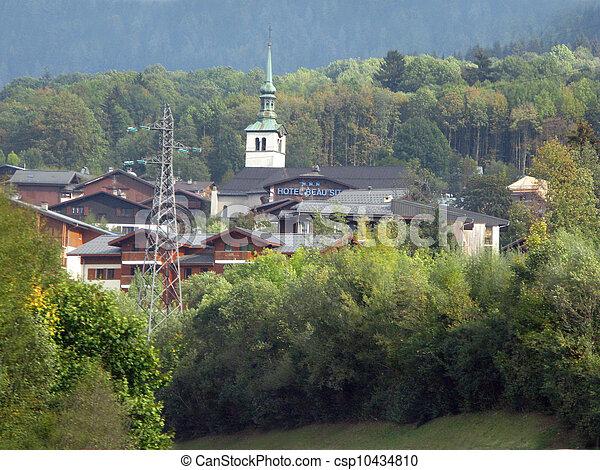 Rural village - csp10434810