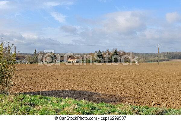 rural village - csp16299507