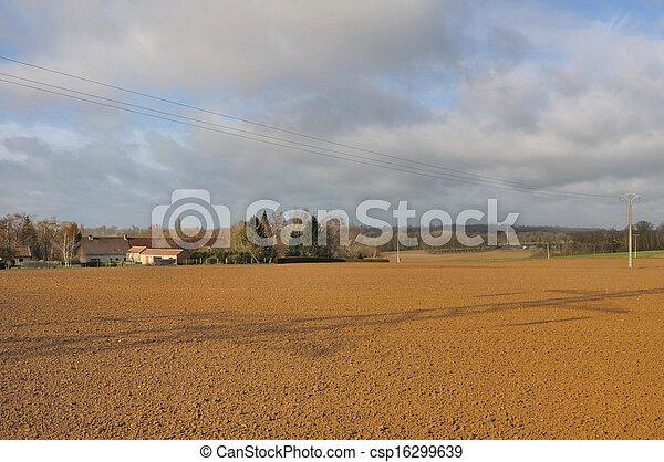 rural village - csp16299639