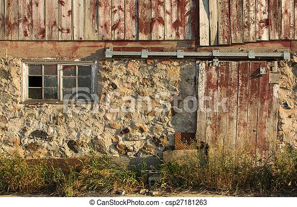 rurale, fondo, textured - csp27181263