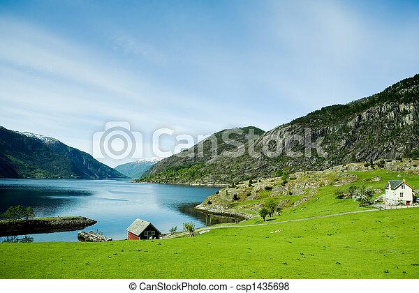 rurale, norvegia - csp1435698