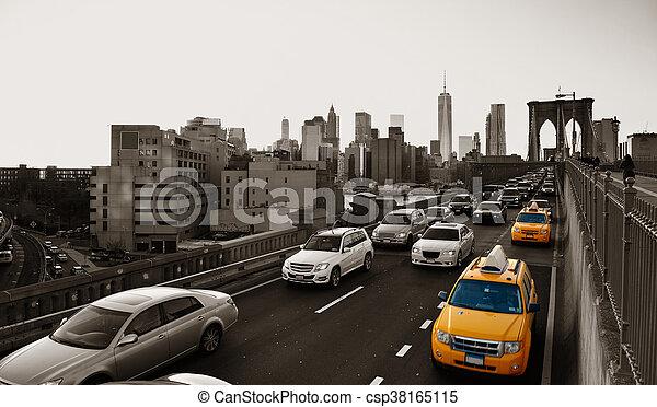 Rush hour traffic - csp38165115