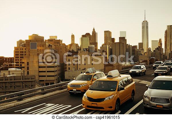 Rush hour traffic - csp41961015