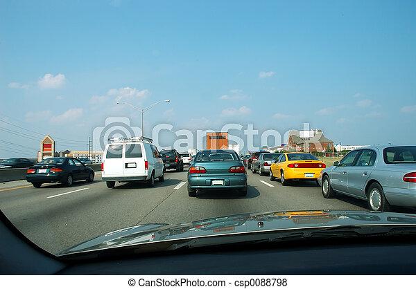 Rush Hour Traffic - csp0088798