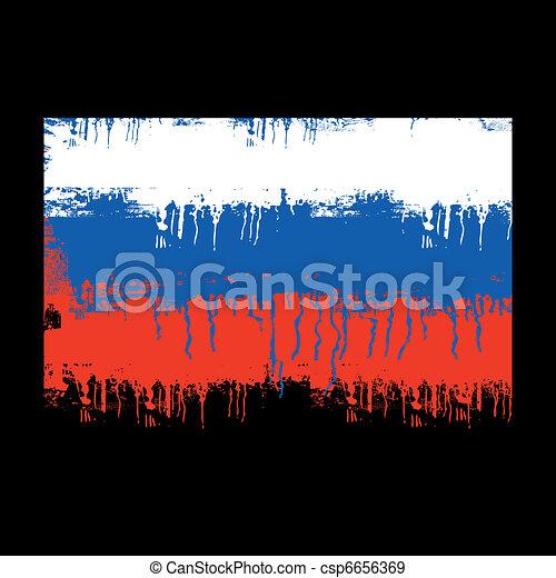 rusland dundoek - csp6656369