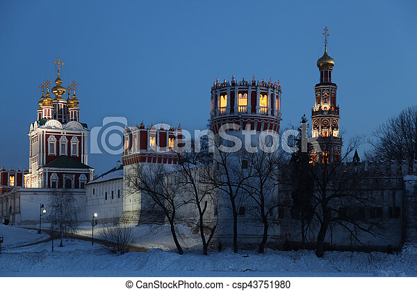 Russia. Moscow. Novodevichy Convent - csp43751980