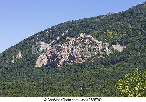 Russia mountain, Beshtau, lermontov - csp10825792