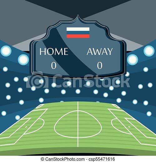 soccer scoreboard world cup