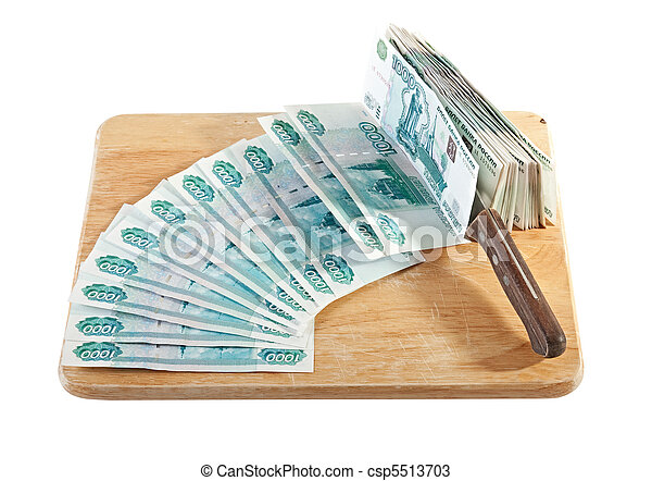 Russian banknotes - csp5513703