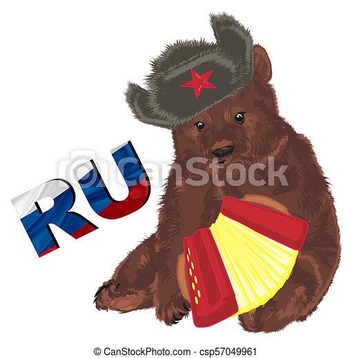 russian bear - csp57049961