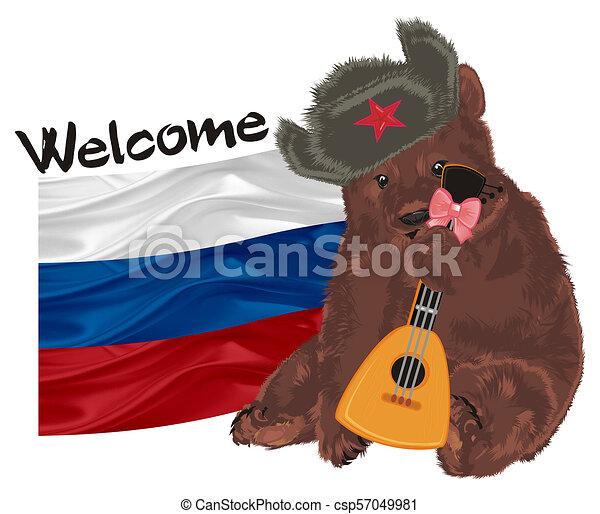 russian bear - csp57049981