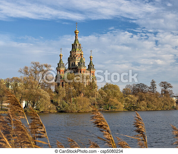 Russian cathedral - csp5080234