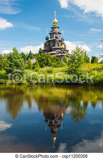 Russian church - csp11200358