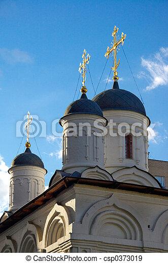 Russian church - csp0373019