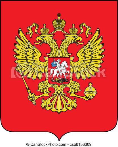 Russian coat of arms - csp8156309