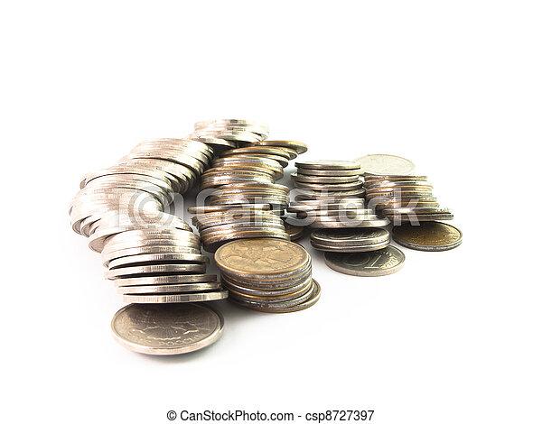 Russian coins - csp8727397
