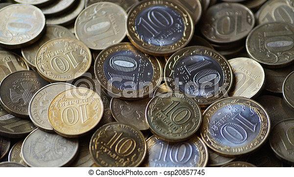 Russian coins - csp20857745