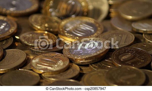 Russian coins - csp20857947