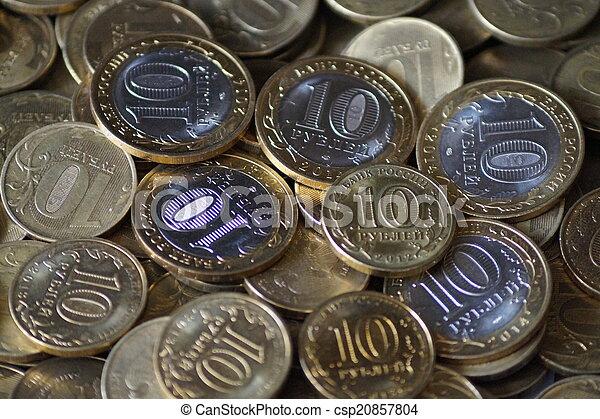 Russian coins - csp20857804