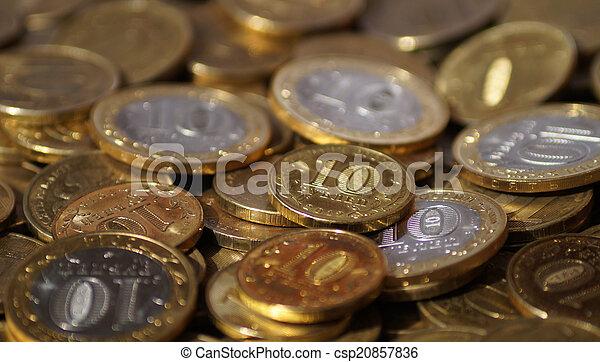 Russian coins - csp20857836