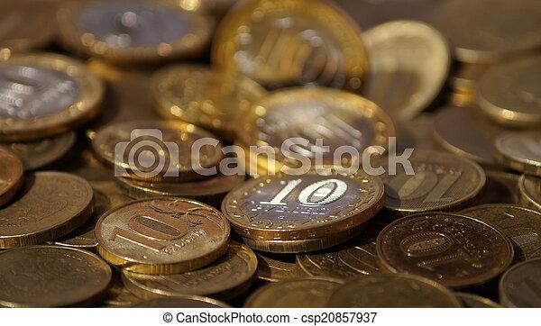 Russian coins - csp20857937