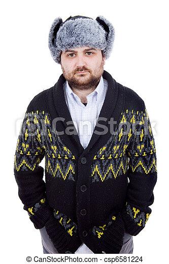 russian hat - csp6581224