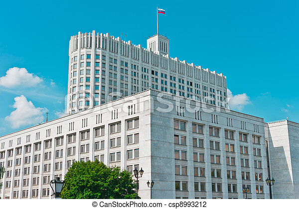 Russian House of Government - csp8993212