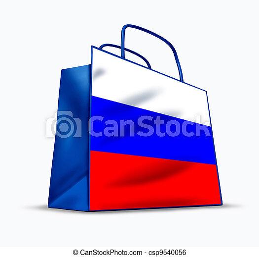 Russian market - csp9540056
