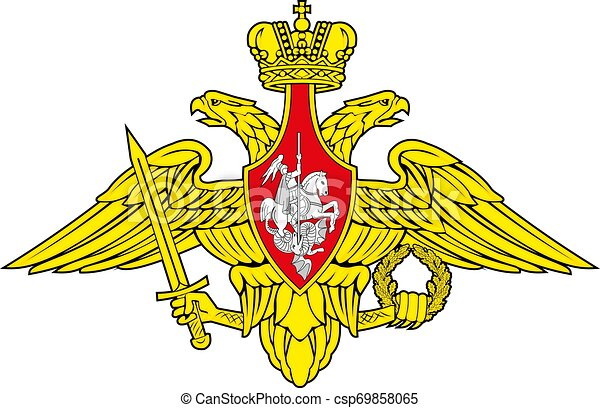 Russian military patch vector illustration EPS10 - csp69858065