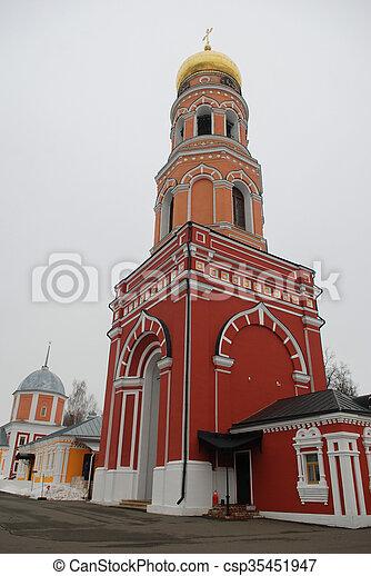 Russian monastery Davydova pustyn - csp35451947
