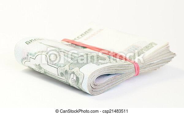 Russian money - csp21483511