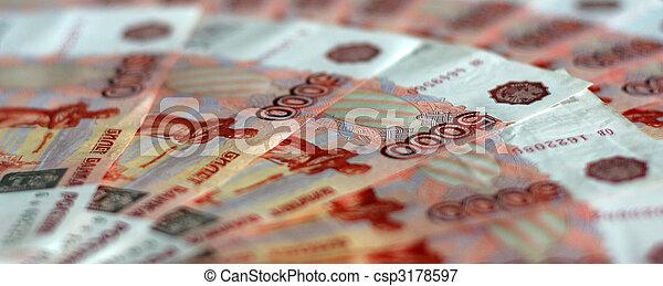 russian money - csp3178597
