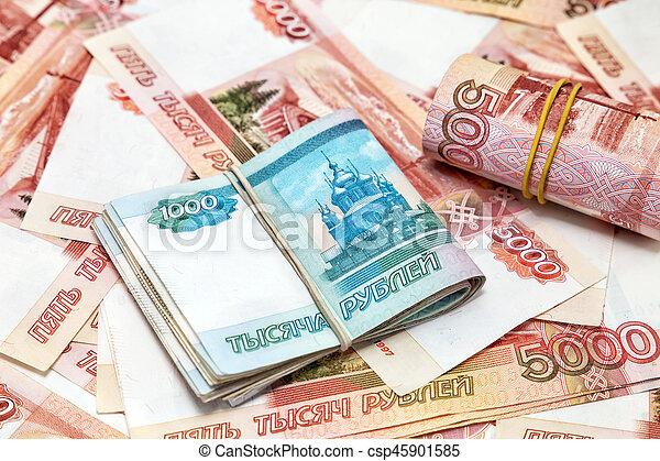 Russian money - csp45901585