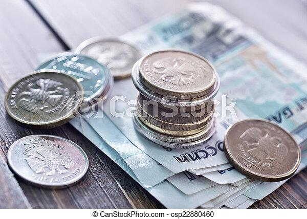 russian money - csp22880460