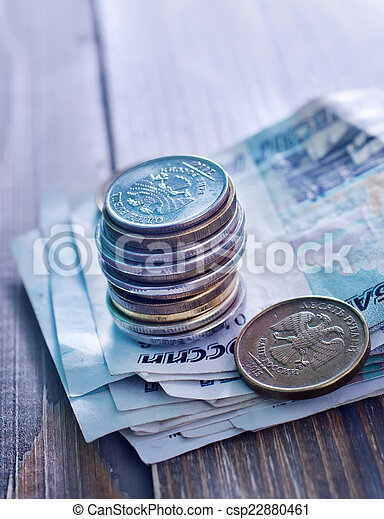 russian money - csp22880461