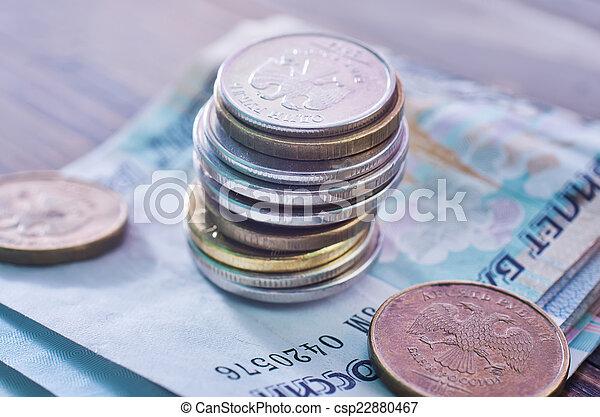 russian money - csp22880467