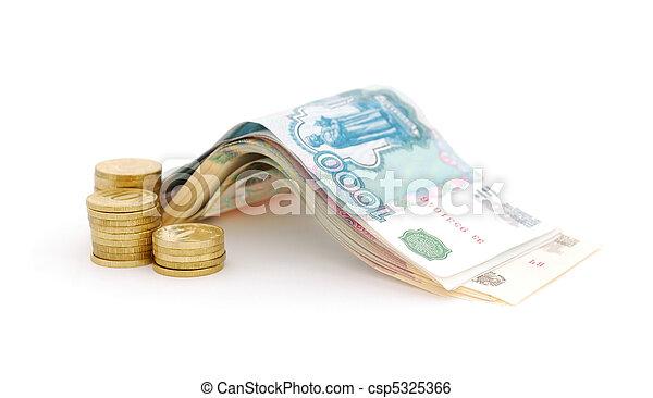 Russian money - csp5325366