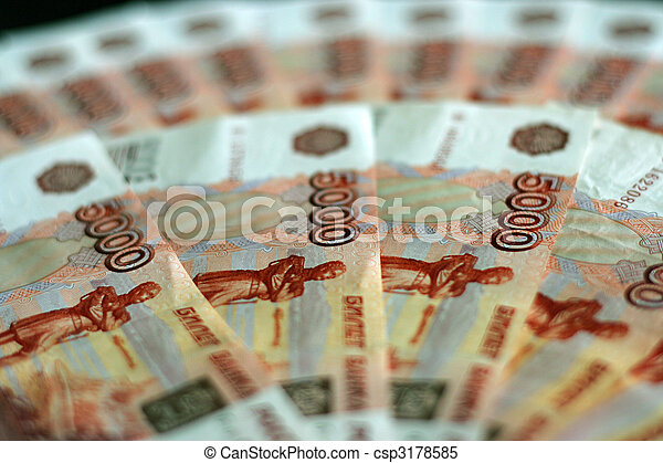 russian money - csp3178585