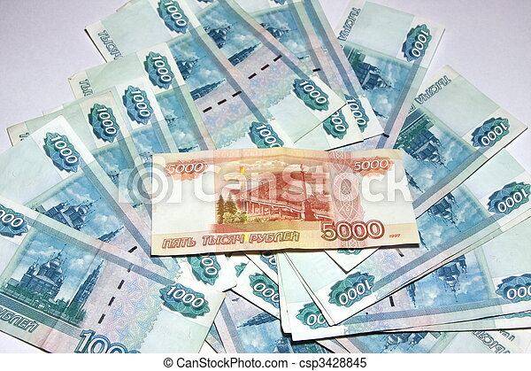 Russian money - csp3428845